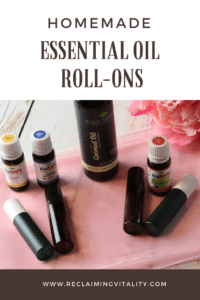 Homemade Essential Oil Roll Ons