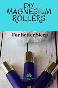 DIY Magensium Rollers for better sleep