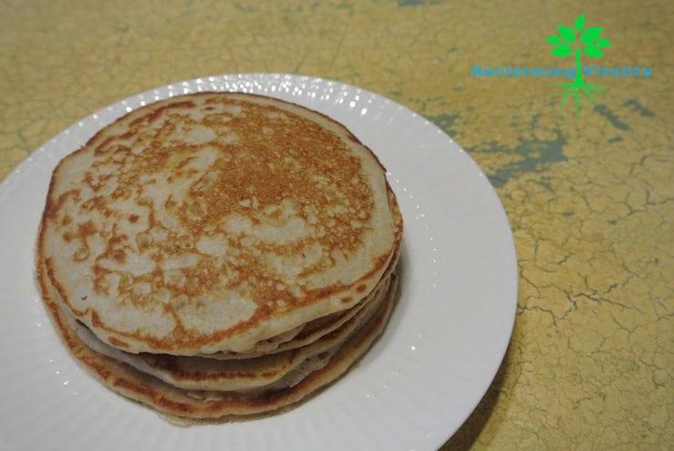 Fluffy Sourdough Pancakes/Waffles