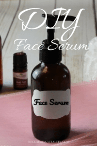 DIY Customized Face Serum