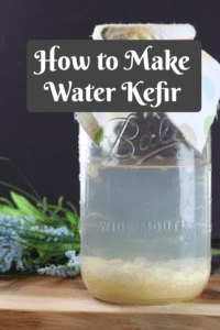 How to Make Water Kefir: Learn the benefits of making water kefir at home and how easy it is to do it! A tasty way to ditch the juice and soda! #guthealth #makewaterkefir #naturalsoda #probiotics #reclaimingvitality