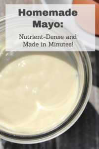 """Homemade Mayonnaise"""" Nutrient-dense and made in minutes. #traditionalfoods #pasturedeggs #avocadooil #homemademayo #reclaimingvitality"""