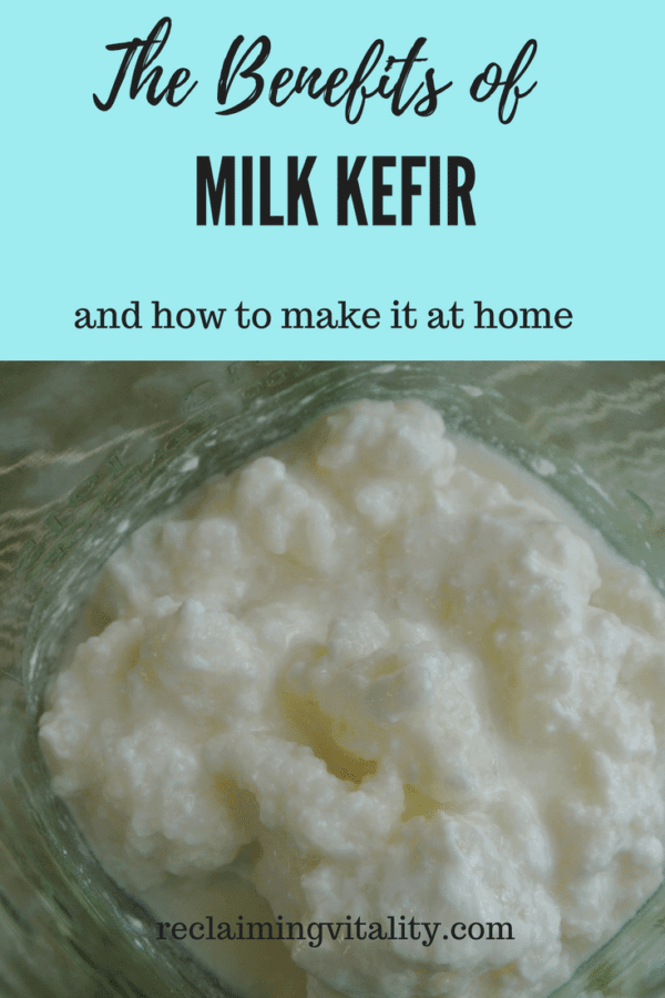 The Benefits of consuming milk kefir and how to make it at home