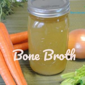 How to Make Instant Pot Bone Broth #bonebroth #guthealth #leakygut #microbiome #collagen #reclaimingvitality