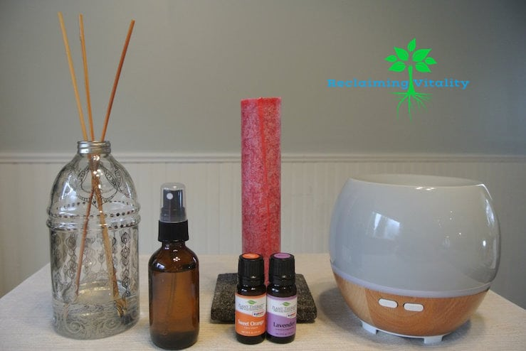 Non-toxic Ways to Make Your Home Smell Amazing #non-toxicliving #naturalliving #essentialoils #reclaimingvitality