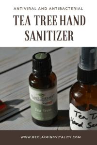 Tea Tree Hand Sanitizer