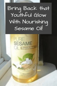 Sesame Oil for Face and Body
