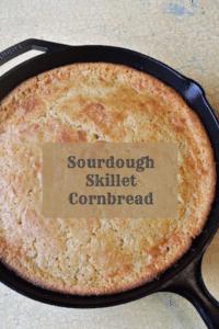 Sourdough Skillet Cornbread #sourdough #cornbread #traditionalfoods #reclaimingvitality
