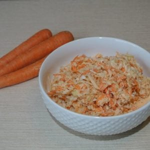 Carrot Cabbage Coleslaw #veggies #coleslaw #reclaimingvitality