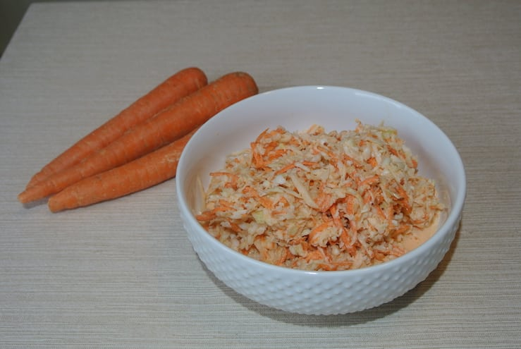 Carrot and Cabbage Coleslaw