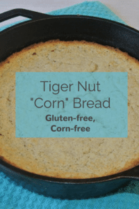 Tiger nut corn bread