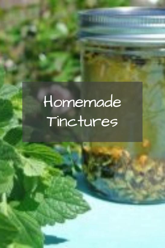 Homemade Tincture Steeping