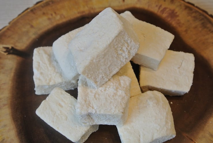 Homemade Marshmallows made with Gut Healing Ingredients