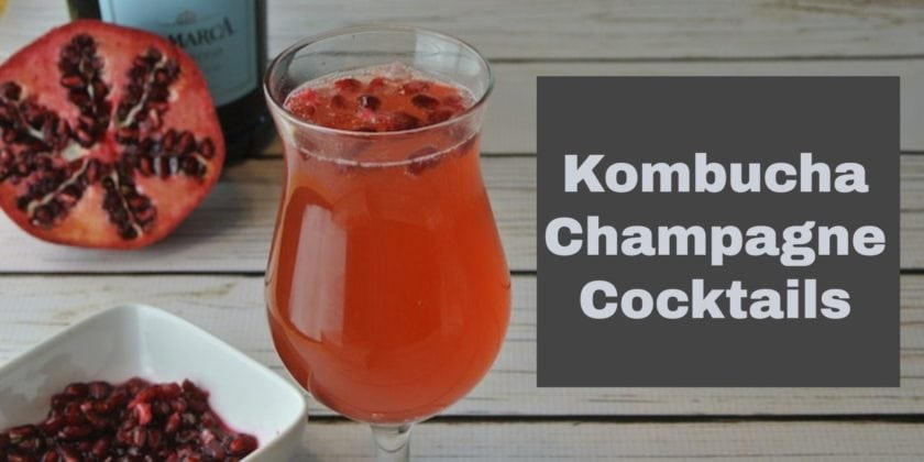 Kombucha-Champagne Cocktail: Imbibe while avoiding a hangover