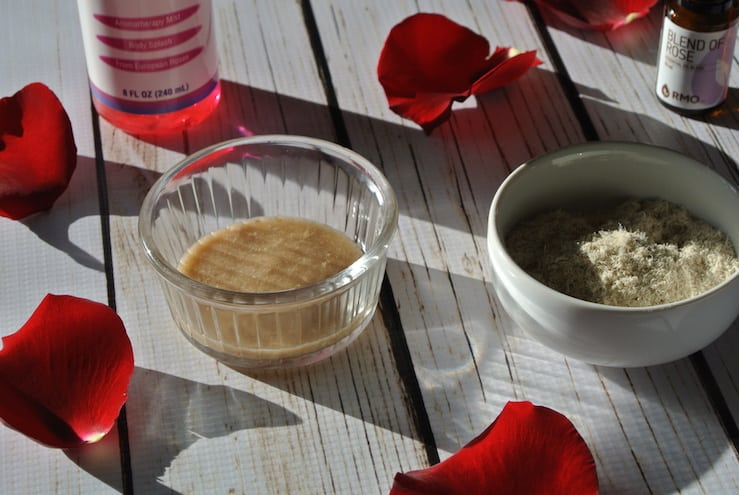 Hydrating and Soothing Homemade Marshmallow Rose Face Mask #naturalbeauty #healthybeauty #non-toxicbeauty #marshmallowroot #rosewater #naturalliving #reclaimingvitality