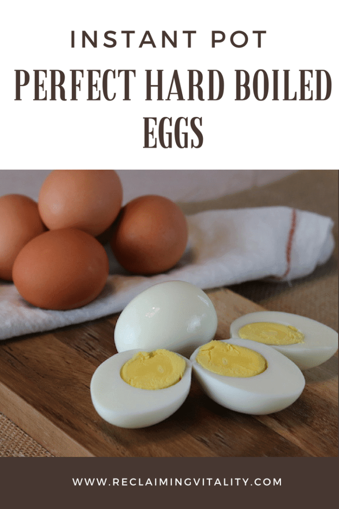 Perfect Hard Boiled Eggs in the Instant Pot!