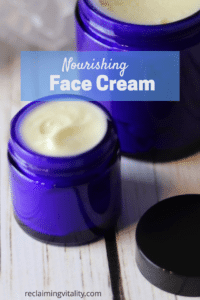 Homemade Nourishing Face Cream
