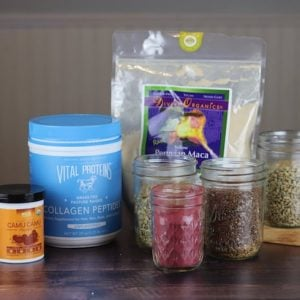 Superfood Smoothie Ingredients