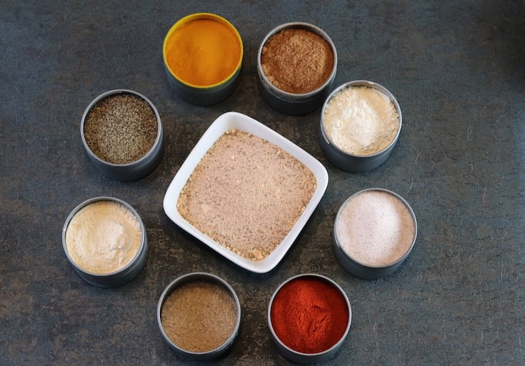 Homemade Steak Seasoning (Non-irradiated, additive-free, pesticide-free) gluten-free, additive-free, preservative-free, chemical-free #gluten-free #additive-free #chemical-free #preservative-free #reclaimingvitality