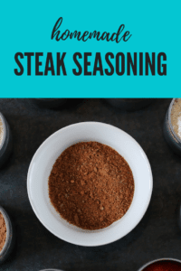 Homemade Steak Seasoning gluten-free, additive-free, preservative-free, chemical-free