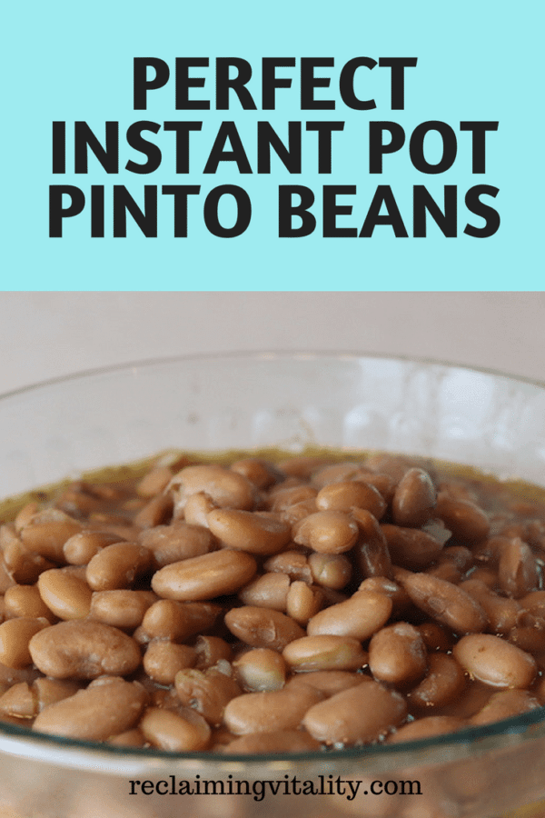Perfect Instant Pot Pinto Beans: Soaked or Unsoaked