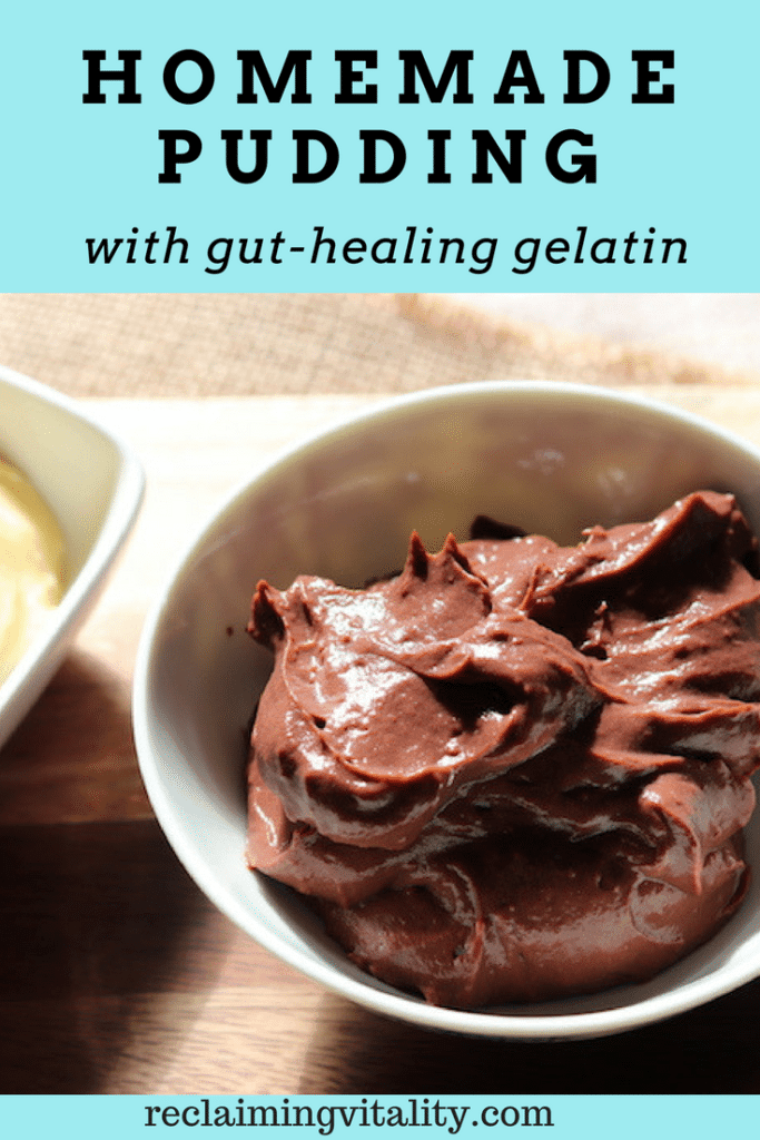 Easy Homemade Pudding with Gut-Healing Gelatin
