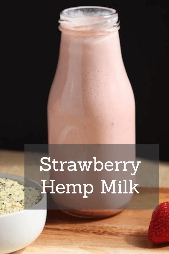 Strawberry Hemp Milk: Nutritious and Delicious!
