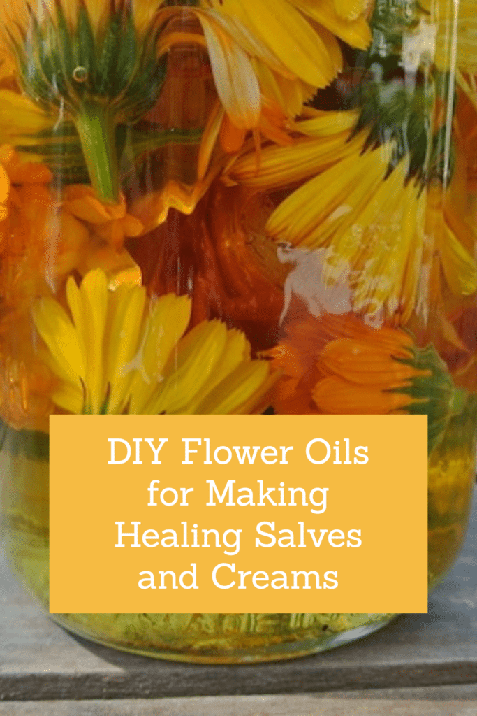 DIY Flower Oils
