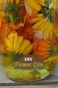DIY Flower Oils