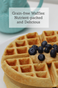 Grain-free Waffles: Nutrient- packed and delicious! #grain-free #gluten-free #buckwheat #nutrition #breakfast #reclaimingvitality