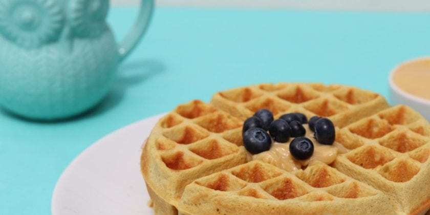 Grain-free Waffles: Delicious, Nutrient-packed (no gums!)