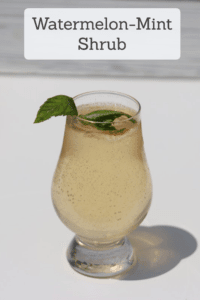 Watermelon-Mint Shrub