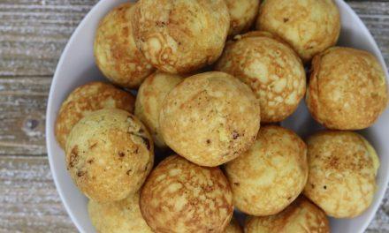 Buckwheat Sourdough Ebelskivers (aka Pancake Balls)