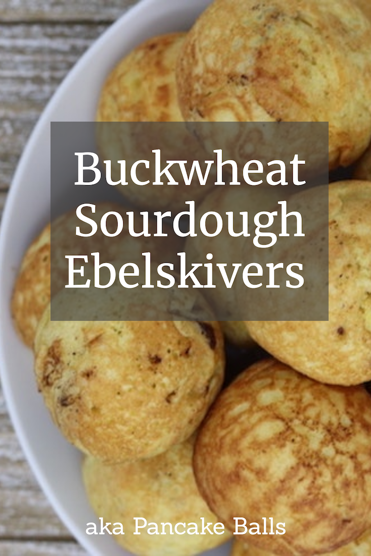 Buckwheat Sourdough Ebelskivers