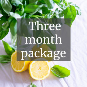 3 month package
