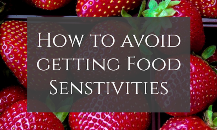 How to Avoid Getting Food Sensitivities